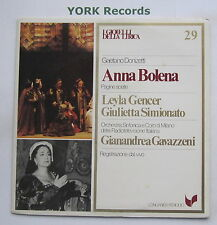 GML 29 - DONIZETTI - Anna Bolena highlights GENCER / SIMIONATO - Ex LP Record