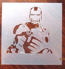 Iron Man Stencil for Airbrush, Crafting, Art Work, ect.