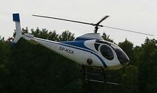 S-333 Schweizer Light Utility Helicopter Wood Model Replica Small Free Shipping