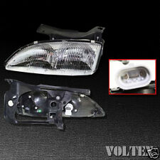 1995-1999 Chevrolet Cavalier Headlight Lamp Clear lens Chevy Halogen Left Side