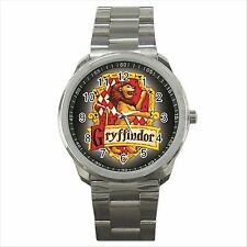 Harry Potter Gryffindor Quality Sport Metal Wrist Watch Gift