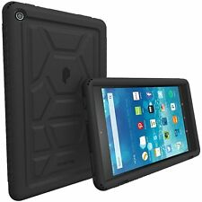For All-New Amazon Fire HD 8 Poetic Rugged Shockproof Silicone Case Cover (2016)