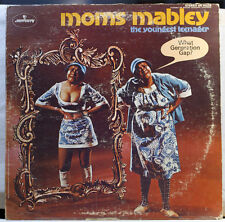 Moms Mabley - The Youngest Teenager 1969 LP + Bonus CD Vinyl Record Rip Comedy