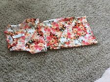 Miss Posh Floral Cut Out Dress Size M/L Uk 12 New With Tags
