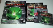 Command and Conquer Red Alert 1 BIG BOX PC Game + Strategy Guide