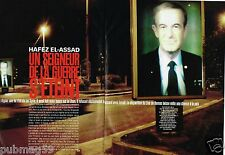Coupure de Presse Clipping 2000 (6 pages) Damas Hafez El-Assad est mort