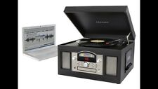 Crosley CR6001A-BK Archiver USB-Enabled 3-Speed Turntable (Black) New