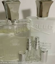 2 0f 5ml French CREED ROYAL and SILVER MOUNTAIN water - unisex