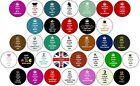 Keep Calm & Carry On Button Pin Badges 25mm Star Wars Wine Princess Bake Beer