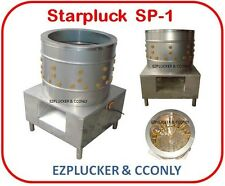 New Starpluck SP-1 Chicken Plucker De-feather Machine Stainless Steel