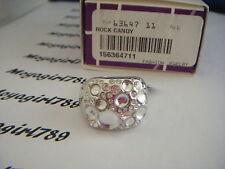 Lia Sophia Rock Candy Size 11 Ring RV $66 NIB