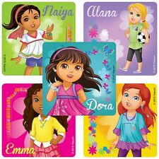 """30 Dora and Friends Character Stickers, 2.5"""" x 2.5"""" each, Party Favors"""