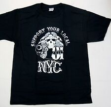 Support Your Local 81 NYC Hells Angels 3rd st crew New York T Shirt  2XL  #sku