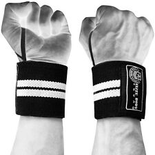 Wrist Wraps - Top Quality Wrist Supports - FREE Lifting Straps + Carry Bag