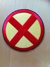 X-MEN WOLVERINE LOGO Fancy Dress Iron Sew On Patch Badge Tshirt Transfer NEW