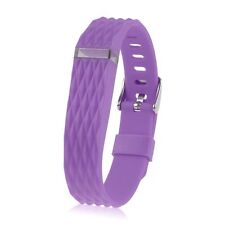 Replacement Wrist Band Strap W/ Metal Buckle For Fitbit Flex Bracelet Wristband