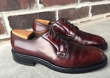 NICE ALLEN EDMONDS SHELL CORDOVAN LEEDS DERBY SHOES BLUCHERS HORWEEN 8 B