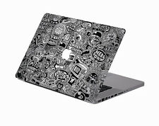 "NEW Cartoon style Macbook Pro 13"" Vinyl Art Decal Skin Stickers Cover Protector"