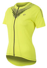 Pearl Izumi 2017 Women's Select Pursuit Bike Jersey Screaming Yellow Whirl - XS