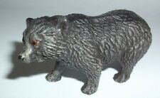 antique vintage Toy black Bear cub? Figure Elastolin? Lineol? Composition?