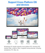 WiFi Display Dongle Miracast Airplay Mirror Wireless HDMI Android Win7