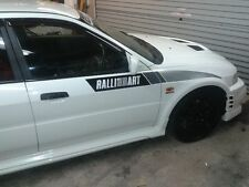 Mitsubishi Evo Ralliart Wing Decals