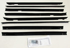 1980-1989 Cadillac Fleetwood Deville 4 Door New Window Felt Weatherstrip Kit 8pc