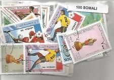 Lot 100 timbres de Somalie
