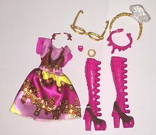 Ever After High Sugar Coated Class Ginger Breadhouse Doll Outfit Dress Shoes NEW