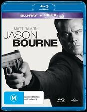 Jason Bourne (Blu-ray, 2016) Brand New Sealed Region B Australia