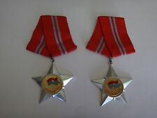 "Lot Of 2 Vietnam War VC ""SOLDIER OF LIBERATION"" 2nd Class Medals"