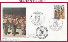 ITALIA FDC ROMA CENTENARIO 1° MAGGIO 1990 ANNULLO ROMA FILATELICO T63
