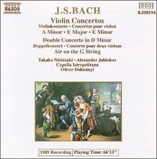 Bach: Violin Concertos; Double Concerto; Air on the G String, New Music