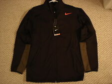 NWT Nike Hyperply Therma-Fit Black Jacket 480309-010 Nadal Federer NEW Small