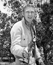 Steve McQueen - Wanted Dead or Alive (1959)  -  8 1/2 X 11