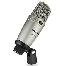Neewer Large Diphragm Condenser Studio Recording Broadcasting Microphone
