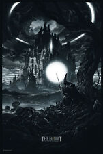 The Hobbit: The Desolation of Smaug  Nicolas Delort Rare sold out Variant print