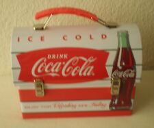 COCA-COLA, DRINK, WORKMANS CARRY-ALL METAL LUNCH BOX