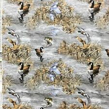 RealTree Ducks Geese Fish Allover Fabric- RealTree 100% Cotton Fabric /Yard
