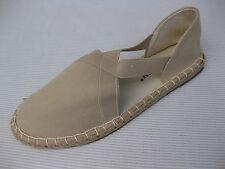 Pierre Dumas Womens Shoes NEW $39 Princesa Beige Chino Jute Espadrille Flat 9 M