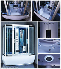 Steam Shower,Whirlpool,Foot Massage,Aromatherapy. BLUETOOTH,6 Year US Warranty.