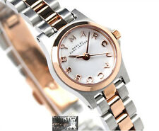 NEW Marc Jacobs Henry Dinky Two Tone Rose Gold Silver Ladies Watch MBM3261