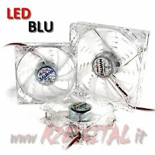 VENTOLA ZM-F3 SF 120mm ZALMAN SILENT EBR LED BLU CUSCINETTO LUNGA DURATA LONG PC