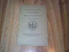The Maryland Historical Society Annual Report For The Year 1897-1898