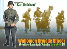 1/6 Dragon WWII German Karl Hellebaut Wallonien Officer