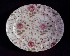 Johnson Brothers ROSE CHINTZ  11 5/8 in. Oval Serving Platter- A+ -FREE SHIPPING