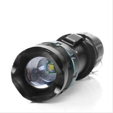 4000 Lumen Lamp Flashlight Zoom Q5 LED Zoomable CREE XML Light Focus Torch