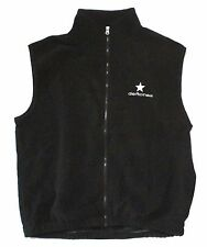DEFTONES EMBROIDERED STAR BLACK POLAR FLEECE TEK VEST XL NEW OFFICIAL