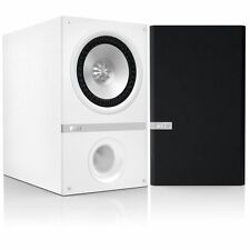 KEF Q100 Stereo Home Cinema Speakers Loudspeakers Uni-Q White