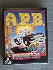 APB  Lynx Atari Collectors!! Rare New Boxed